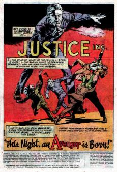 Extrait de Justice Inc. Vol.1 (DC comics - 1975) -1- Issue # 1