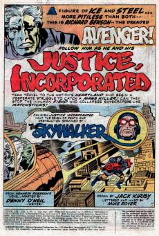 Extrait de Justice Inc. Vol.1 (DC comics - 1975) -2- The Sky Walker!