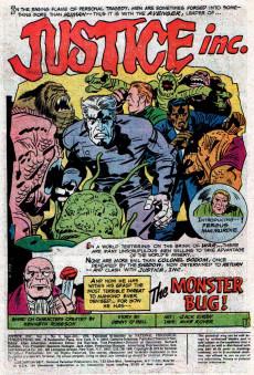 Extrait de Justice Inc. Vol.1 (DC comics - 1975) -3- The Monster Bug!