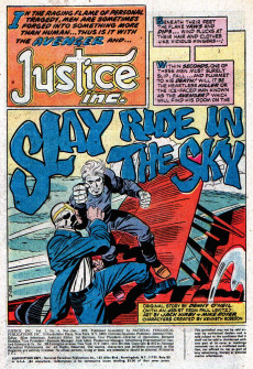 Extrait de Justice Inc. Vol.1 (DC comics - 1975) -4- Issue # 4
