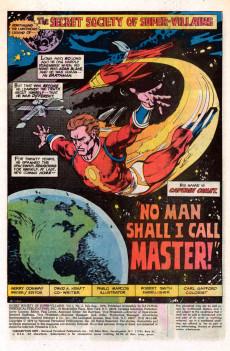 Extrait de Secret Society of Super-Villains (The) (DC comics - 1976) -2- No Man Shall I Call Master!