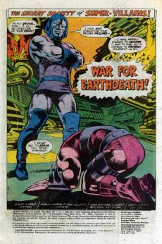 Extrait de Secret Society of Super-Villains (The) (DC comics - 1976) -3- The War to Rule the Universe!
