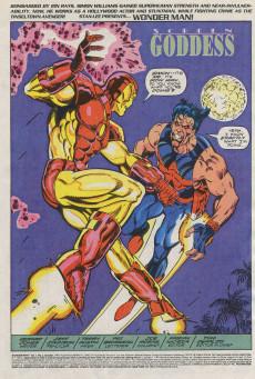 Extrait de Wonder Man (Marvel Comics - 1991) -2- Screen Goddess