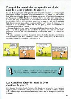 Extrait de Charlie Brown (Dargaud) -HS4- le grand livre des questions et réponses de Charlie Brown aux sujets de tous les peuples du monde et de leur mode de vie