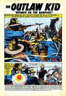Extrait de The outlaw Kid Vol.2 (Marvel - 1970) -6- Six-Gun Shoot-Out!