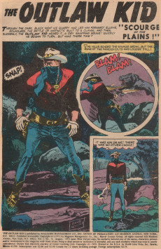 Extrait de The outlaw Kid Vol.2 (Marvel - 1970) -7- Issue # 7