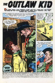 Extrait de The outlaw Kid Vol.2 (Marvel - 1970) -9- The Kid's Last Stand!