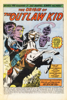 Extrait de The outlaw Kid Vol.2 (Marvel - 1970) -10- The All New Origin of the Outlaw Kid!
