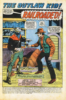 Extrait de The outlaw Kid Vol.2 (Marvel - 1970) -11- Thunder Along the Big Iron!