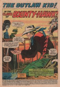 Extrait de The outlaw Kid Vol.2 (Marvel - 1970) -12- The Man Called...Bounty-Hawk!