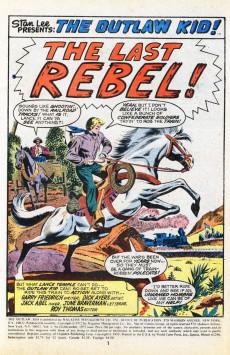 Extrait de The outlaw Kid Vol.2 (Marvel - 1970) -13- The Last Rebel!