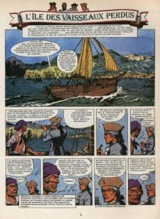 Extrait de Barbe-Rouge -19'- L'île des vaisseaux perdus