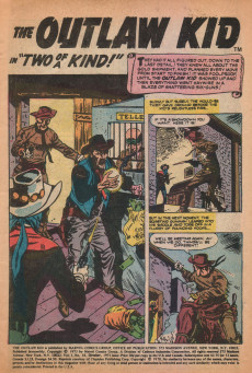 Extrait de The outlaw Kid Vol.2 (Marvel - 1970) -18- One Kid Too Many!