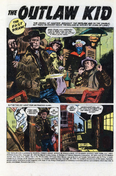Extrait de The outlaw Kid Vol.2 (Marvel - 1970) -19- Duel of the Fast Draws!