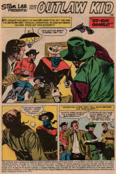 Extrait de The outlaw Kid Vol.2 (Marvel - 1970) -20- The Riddle of Scorpion Creek