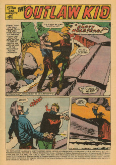 Extrait de The outlaw Kid Vol.2 (Marvel - 1970) -21- Death Rides the Last Train to Boot Hill!