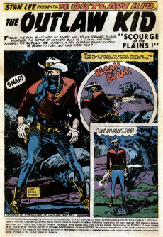 Extrait de The outlaw Kid Vol.2 (Marvel - 1970) -23- Issue # 23