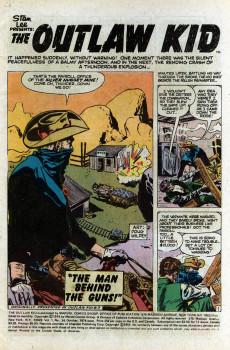 Extrait de The outlaw Kid Vol.2 (Marvel - 1970) -24- Six-Gun Pay-Off!