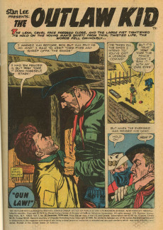 Extrait de The outlaw Kid Vol.2 (Marvel - 1970) -25- The Kid's Last Stand!