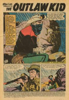 Extrait de The outlaw Kid Vol.2 (Marvel - 1970) -26- .45 Caliber Cross Fire!