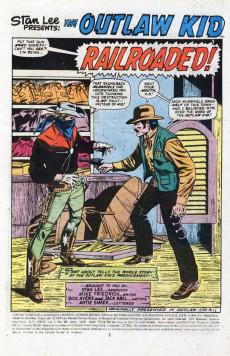 Extrait de The outlaw Kid Vol.2 (Marvel - 1970) -28- Thunder Along the Big Iron!