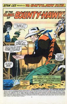 Extrait de The outlaw Kid Vol.2 (Marvel - 1970) -29- The Man Called... Bounty-Hawk!