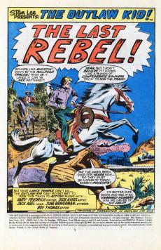 Extrait de The outlaw Kid Vol.2 (Marvel - 1970) -30- The Last Rebel!