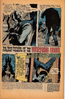 Extrait de Witching Hour (The) (DC comics - 1969) -8- The Witching Hour #8