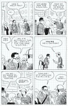 Extrait de The loneliness of the Long-Distance Cartoonist (2020) - The Loneliness of the Long-Distance Cartoonist