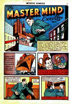 Extrait de Mystic comics Vol.1 (Timely comics - 1940) -2- Issue # 2