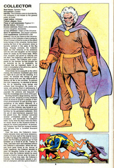 Extrait de Official handbook of the Marvel Universe Vol.2 - Deluxe Edition (1985) -3- Cloak To Doctor Octopus