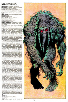 Extrait de Official handbook of the Marvel Universe Vol.2 - Deluxe Edition (1985) -8- Magus To Mole Man