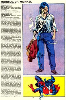 Extrait de Official handbook of the Marvel Universe Vol.2 - Deluxe Edition (1985) -9- Molecule Man to Owl