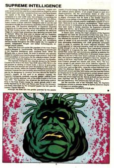 Extrait de Official handbook of the Marvel Universe Vol.2 - Deluxe Edition (1985) -13- Super-Adaptoid To Umar