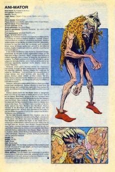 Extrait de Official Handbook of the Marvel Universe Vol.3 - Update'89 (1989) -1- Adversary To Chameleon
