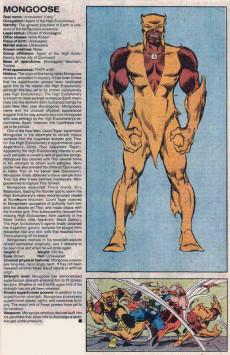 Extrait de Official Handbook of the Marvel Universe Vol.3 - Update'89 (1989) -5- Marauders To Power Princess
