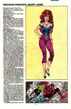 Extrait de Official Handbook of the Marvel Universe Vol.3 - Update'89 (1989) -8- U-Man To Madelyne Pryor