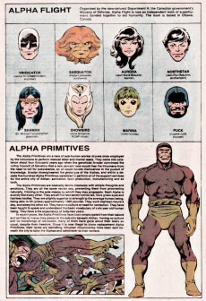 Extrait de Official handbook of the Marvel Universe Vol.1 (1983) -1- A: From Abomination to Avengers Quinjet