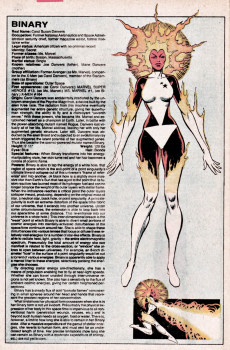 Extrait de Official handbook of the Marvel Universe Vol.1 (1983) -2- B-C: From Baron Mordo to The Collective Man