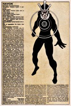 Extrait de Official handbook of the Marvel Universe Vol.1 (1983) -5- H-J: From Hangman To Juggernaut