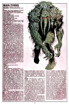 Extrait de Official handbook of the Marvel Universe Vol.1 (1983) -7- M: From Mandarin To Mystique