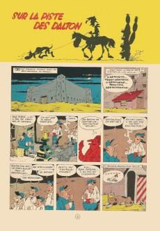 Extrait de Lucky Luke -17- Sur la piste des Dalton