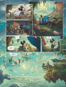 Extrait de Mickey (collection Disney / Glénat) -12- Mickey & la Terre des anciens