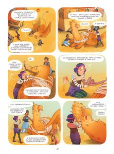 Extrait de Enola & les animaux extraordinaires -6- Le griffon qui avait une araignée au plafond