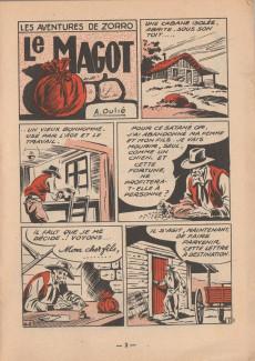 Extrait de Zorro (2e Série - SFP puis SFPI) -22- le magot