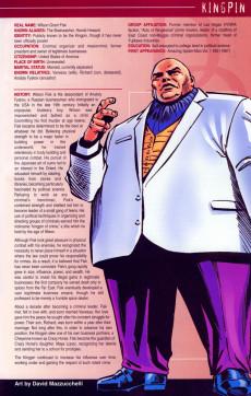 Extrait de Official Handbook of the Marvel Universe Vol.4 (Marvel comics - 2004) -5- Daredevil 2004