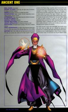 Extrait de Official Handbook of the Marvel Universe Vol.4 (Marvel comics - 2004) -7- The Book of Dead 2004