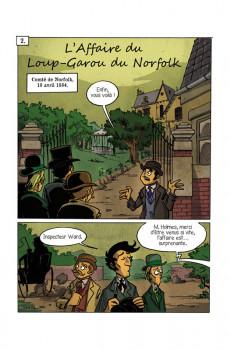 Extrait de Sherlock Holmes - La BD dont vous êtes le héros -8- Enquêtes surnaturelles