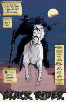 Extrait de Marvel Westerns (Marvel comics - 2006) - Strange Westerns Starring the Black Rider