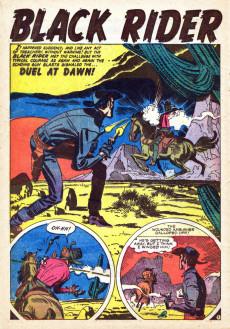 Extrait de Black Rider rides again (Atlas - 1957) - Treachery at Hangman's Bridge!